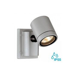 SLV 233104 Silver-Grey New Myra GU10 Outdoor Spotlight