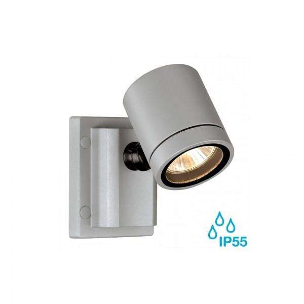 SLV 233104 Silver-Grey New Myra GU10 Outdoor Spotlight