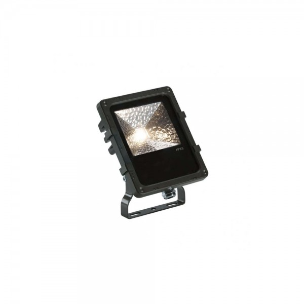 SLV 1000803 Black Disos 3000K 12W LED Outdoor Spotlight