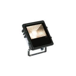 Intalite 1000804 Black Disos 3000K 25W LED Outdoor Spotlight