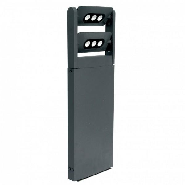 Lutec Lighting Ledspot 6P 320 Degree Tiltable Mini Spotlight Pillar