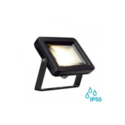 Intalite 232800 Black Spoodi 10W 3000K LED Outdoor Spotlight