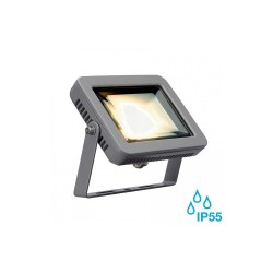 Intalite 232804 Silver-Grey Spoodi 10W 3000K LED Outdoor Spotlight