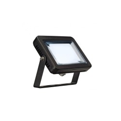 Intalite 232810 Black Spoodi 10W 4000K LED Outdoor Spotlight