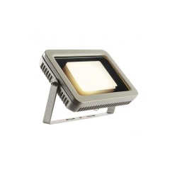 Intalite 232824 Silver-Grey Spoodi 30W 3000K LED Outdoor Spotlight