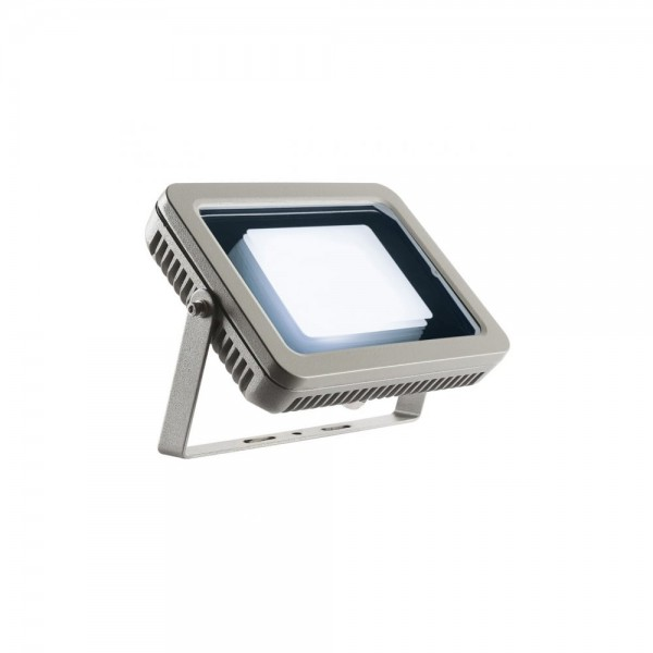 SLV 232834 Silver-Grey Spoodi 30W 4000K LED Outdoor Spotlight
