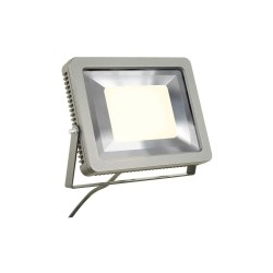 SLV 232844 Silver-Grey Spoodi 60W 3000K LED Outdoor Spotlight