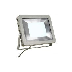 Intalite 232854 Silver-Grey Spoodi 60W 4000K LED Outdoor Spotlight