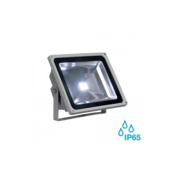 SLV 231121 Silver-Grey 56W 5700K LED Outdoor Beam Spotlight
