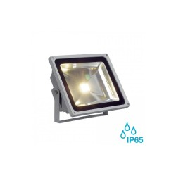 SLV 231122 Silver-Grey 56W 3000K LED Outdoor Beam Spotlight