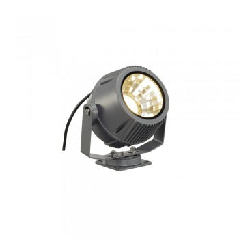 SLV 231072 Stone-Grey Flac Beam 27W 3000K LED Outdoor Spotlight