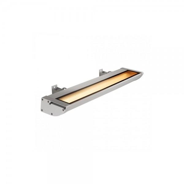 SLV 227734 Silver-Grey Vano Wing 25W LED Outdoor Spotlight