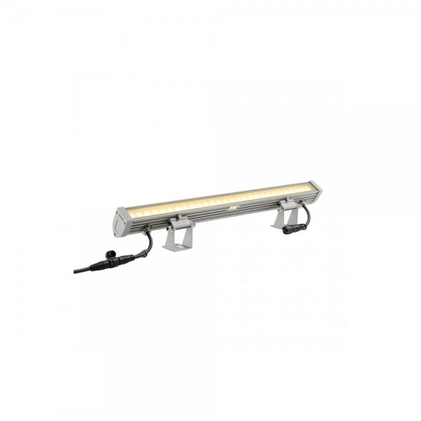 SLV 231954 Silver-Grey New Galen 60 18W LED Outdoor Spotlight