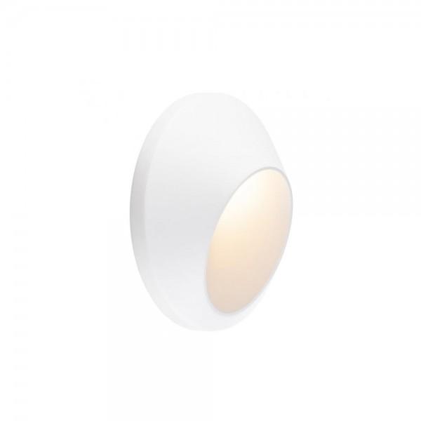 SLV 227181 White Delo 5.8W 3000K LED Outdoor Wall Light