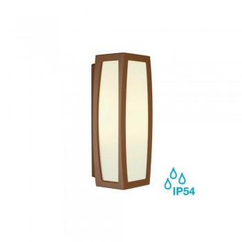 SLV 230047 Rust Meridian Box Outdoor Ceiling & Wall Light