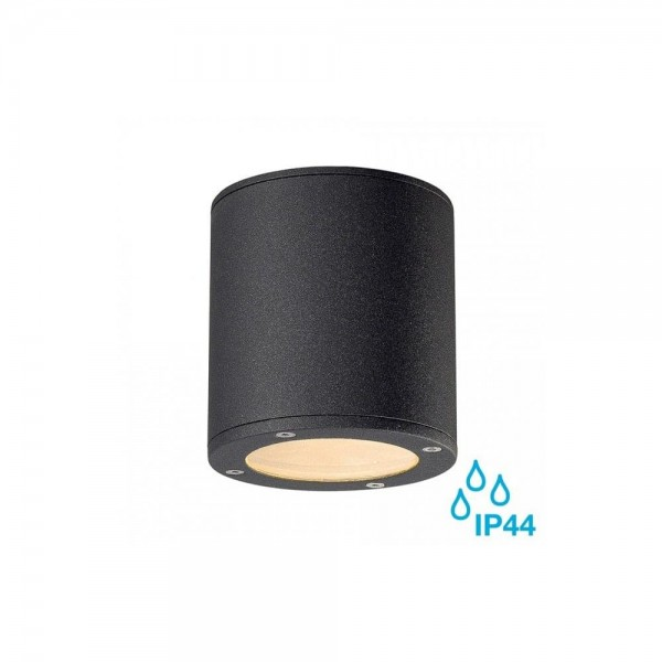 SLV 231545 Anthracite Sitra GX53 Outdoor Ceiling Light