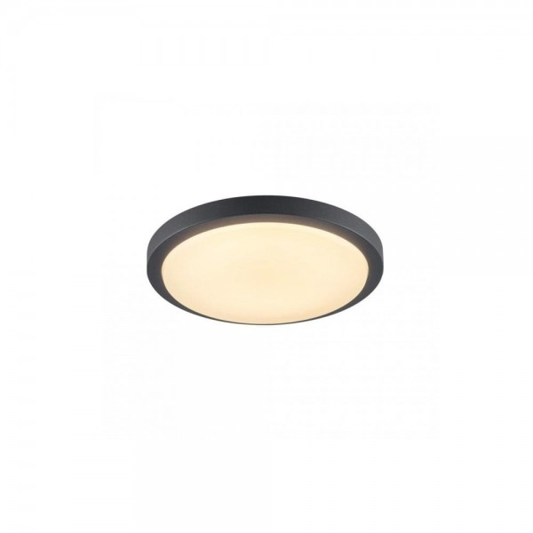 Fabulous Slv 229975 Anthracite Ainos 21W 3000K Led Outdoor Ceiling Wall Light With Sensor Download Free Architecture Designs Jebrpmadebymaigaardcom