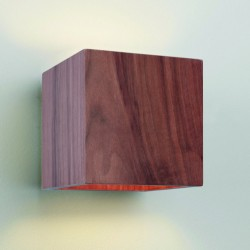 Astro Lighting Cremona 1067001 Walnut Wall Light
