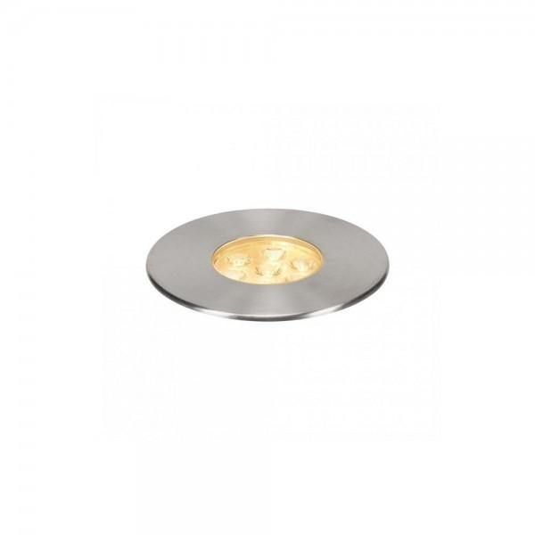 SLV 233712 Stainless Steel Dasar 150 Premium Round 17W LED Outdoor Recessed Ground Light