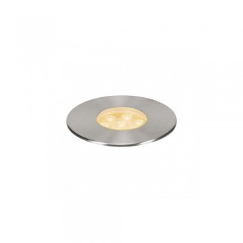 SLV 233716 Stainless Steel Dasar 150 Premium Round 17W LED Outdoor Recessed Ground Light