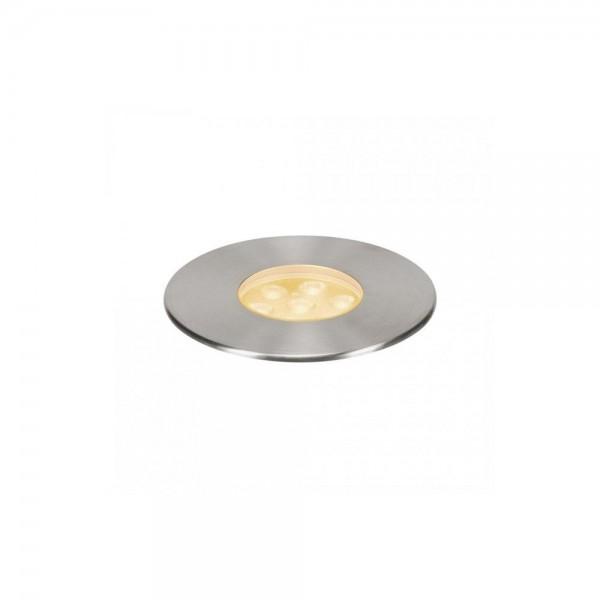 SLV 233726 Stainless Steel Dasar 150 Premium Round 17W LED Outdoor Recessed Ground Light