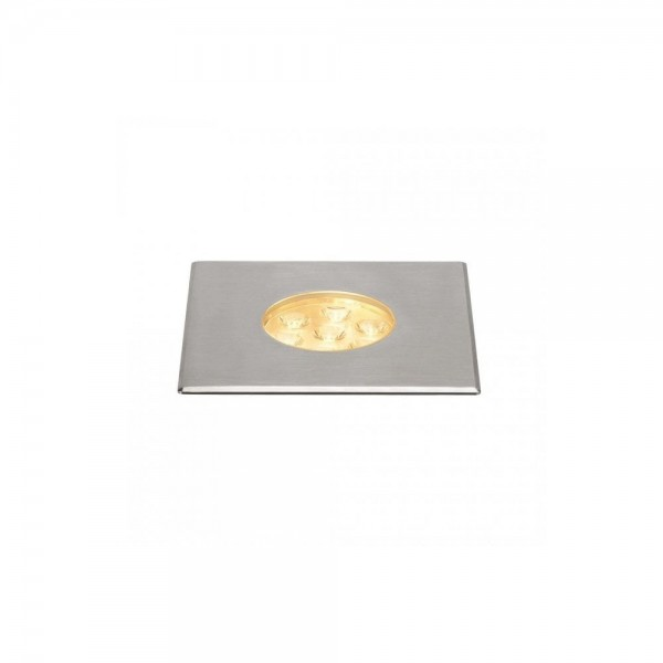 SLV 233732 Stainless Steel Dasar 150 Premium Square 17W LED Outdoor Recessed Ground Light