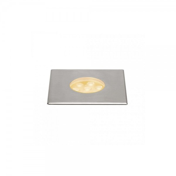 SLV 233736 Stainless Steel Dasar 150 Premium Square 17W LED Outdoor Recessed Ground Light