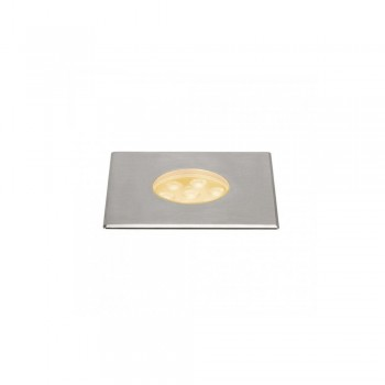 SLV 233746 Stainless Steel Dasar 150 Premium Square 17W LED Outdoor Recessed Ground Light