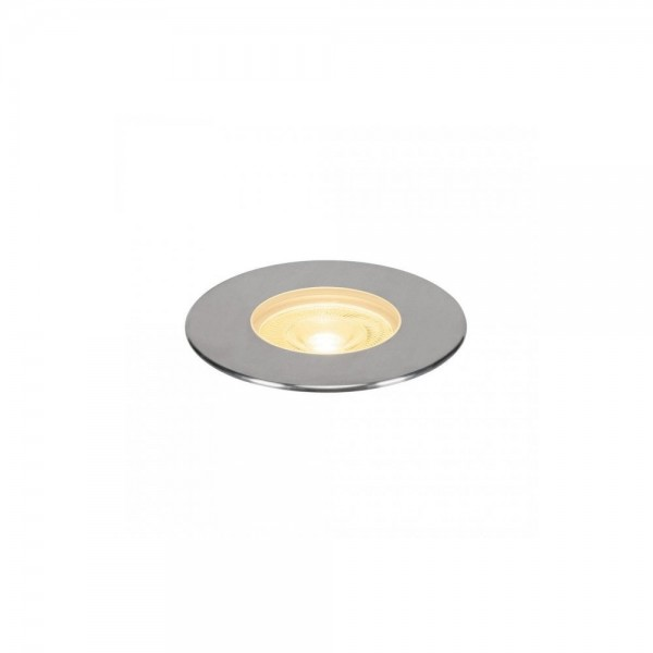 SLV 233752 Stainless Steel Dasar 180 Premium Round 32W LED Outdoor Recessed Ground Light