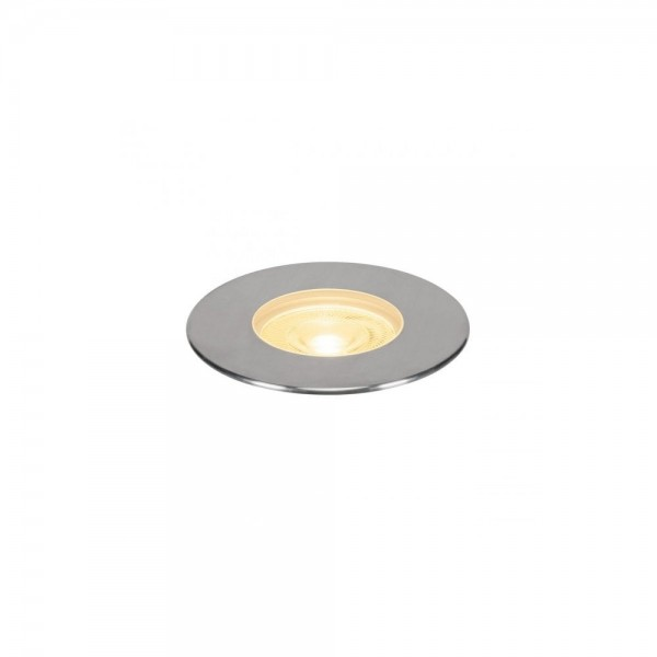 SLV 233762 Stainless Steel Dasar 180 Premium Round 32W LED Outdoor Recessed Ground Light