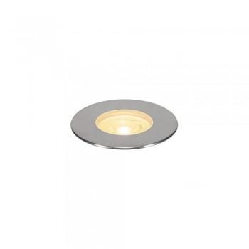 SLV 233762 Stainless Steel Dasar 180 Premium Round 32W LED Outdoor Recessed Ground Light