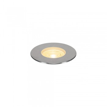 SLV 233766 Stainless Steel Dasar 180 Premium Round 32W LED Outdoor Recessed Ground Light