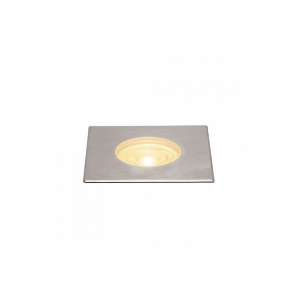 SLV 233772 Stainless Steel Dasar 180 Premium Square 32W LED Outdoor Recessed Ground Light