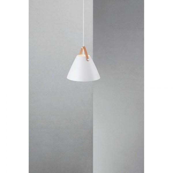 Nordlux DFTP 84333001 White Strap 27 Pendant Light