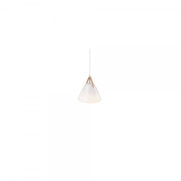 Nordlux DFTP 84313001 White Strap 27 Glass Pendant Light