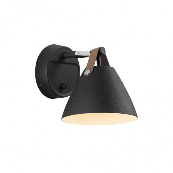 Nordlux DFTP 84291003 Strap 15 Black Wall Light