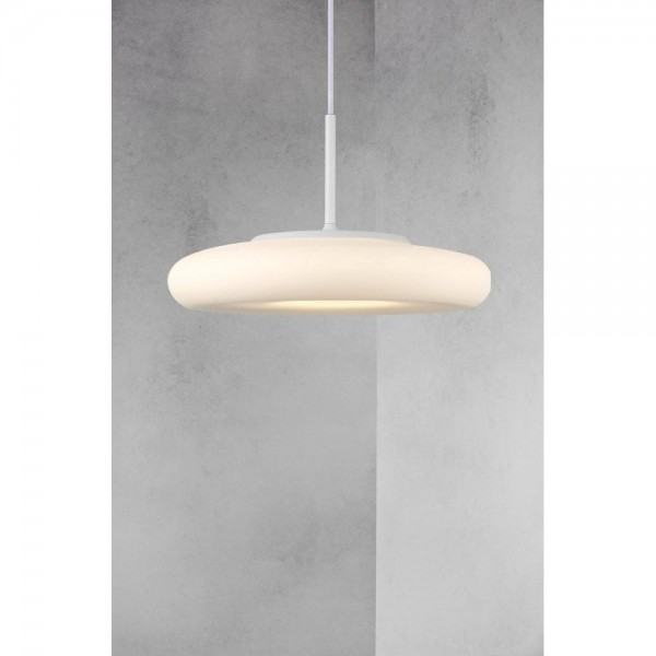 Nordlux DFTP 45213001 Opal Glass Ciambo 36 LED Pendant Light