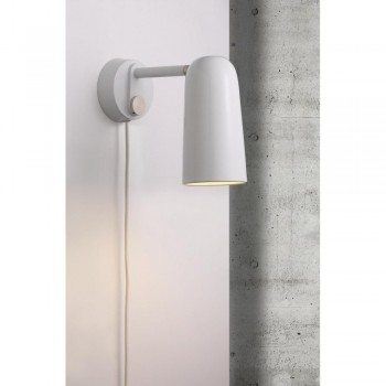 Nordlux DFTP 45181001 White Tippy Wall Light