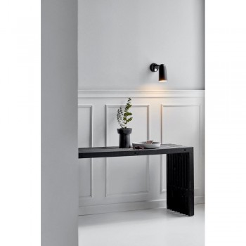 Nordlux DFTP 45181003 Black Tippy Wall Light