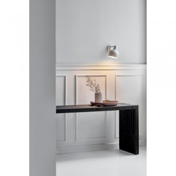 Nordlux DFTP 45191001 White Trooper Wall Light