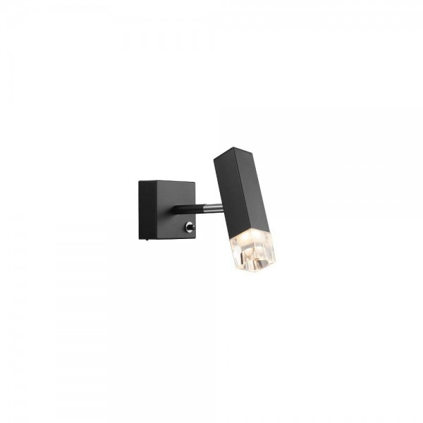 Nordlux DFTP 84511003 Black Caddo LED Wall Light
