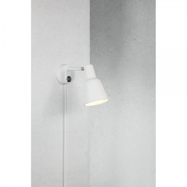 Nordlux DFTP 84471001 White Patton Wall Light