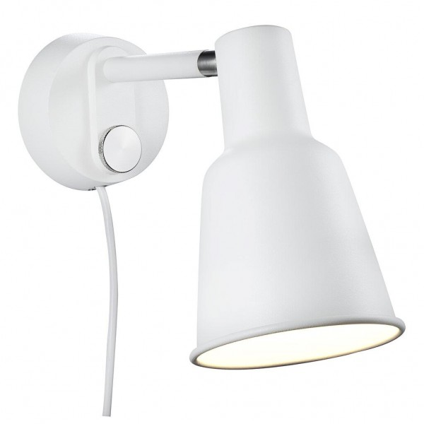 Nordlux DFTP 84471001 White Patton Wall Light
