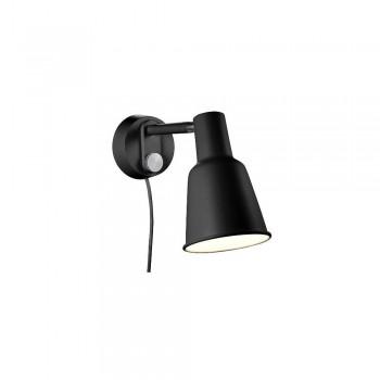 Nordlux DFTP 84471003 Black Patton Wall Light