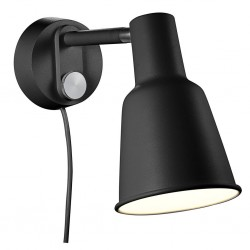 Nordlux DFTP 84471003 Black Patton Wall Light