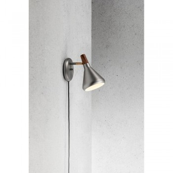 Nordlux DFTP 83001032 Brushed Steel Float Wall Light