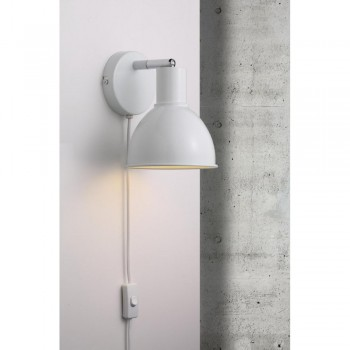 Nordlux 45841001 Pop White Wall Light