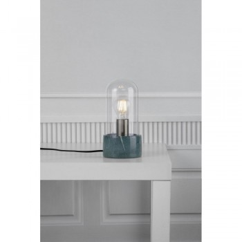 Nordlux 45895023 Siv Green Marble Lamp with Glass