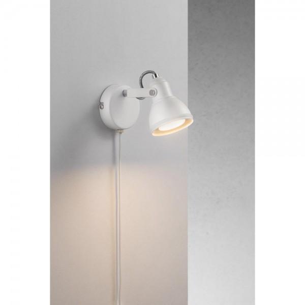 Nordlux 45721001 Aslak White Wall Light