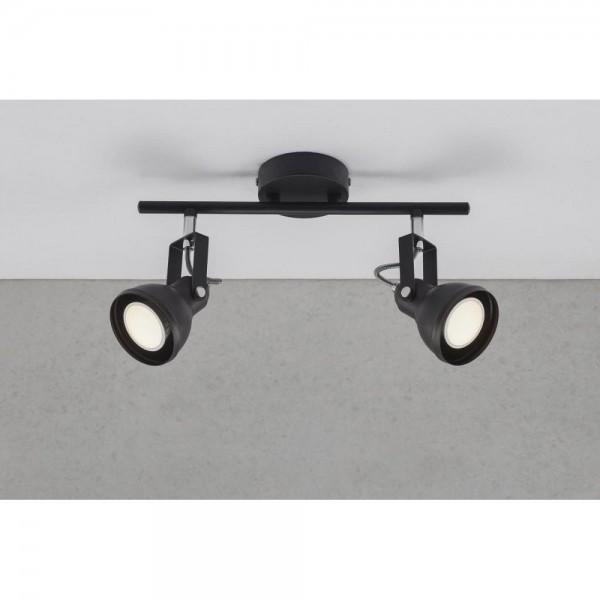 Nordlux 45730103 Aslak 2 Black Ceiling Light